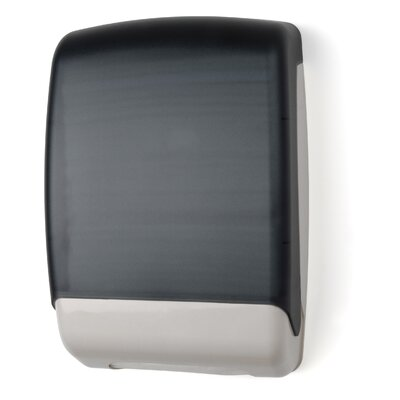 Multifold Towel Dispenser Color: Dark Translucent