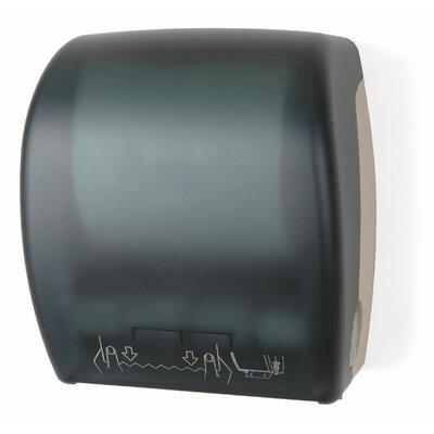 Mechanical Auto Cut Roll Towel Dispenser Color: Dark Translucent