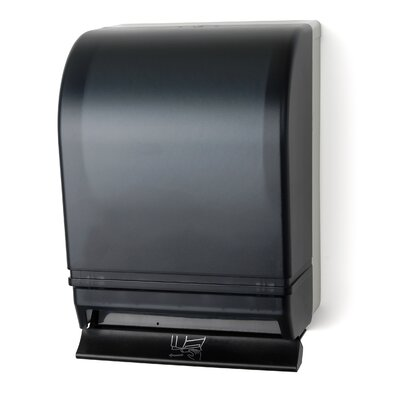 Push Bar Roll Towel Dispenser Color: Dark Translucent