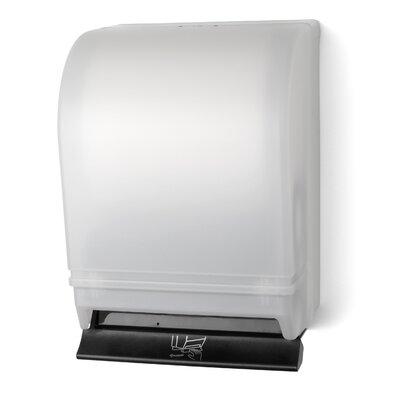 Push Bar Roll Towel Dispenser Color: White
