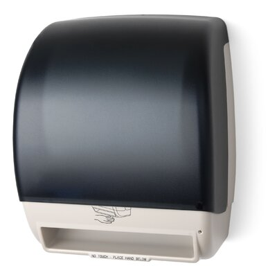Electra Automatic AC Roll Towel Dispenser Color: Dark Translucent