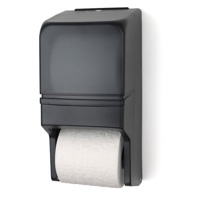 Two Roll Standard Tissue Dispenser Color: Dark Translucent