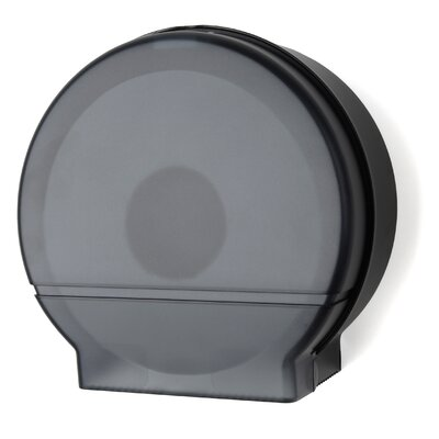 Jumbo Roll Tissue Dispenser Color: Black Translucent