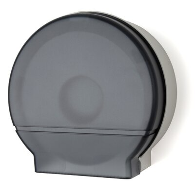 Jumbo Roll Tissue Dispenser Color: Dark Translucent