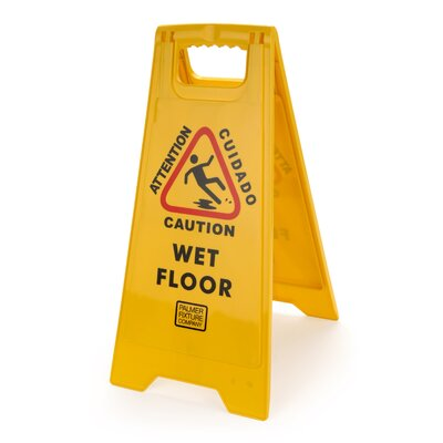 Caution Wet Floor Sign (Set of 6)