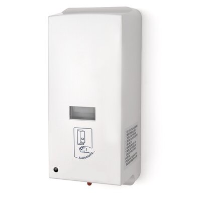 Electronic Bulk/Cartridge Soap Dispenser Color: White