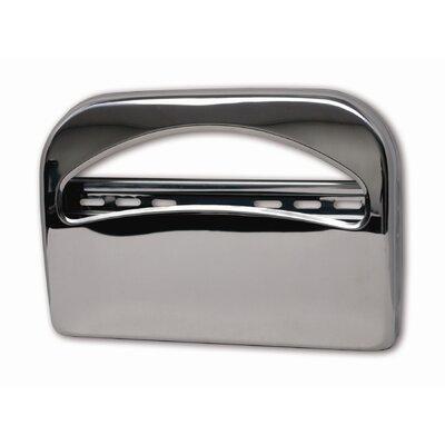 Toilet Seat Cover Dispenser Finish: Brushed Chrome