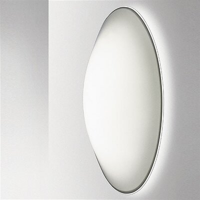 Luna Wall Fixture / Flush Mount Size / Bulb Type: 12.60 Dia x 4.92 D/Incandescent