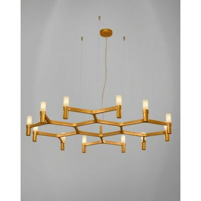 Crown Plana Minor 12-Light Foyer Pendant