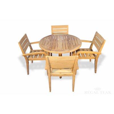Cronk Patio 5 Piece Dining Set