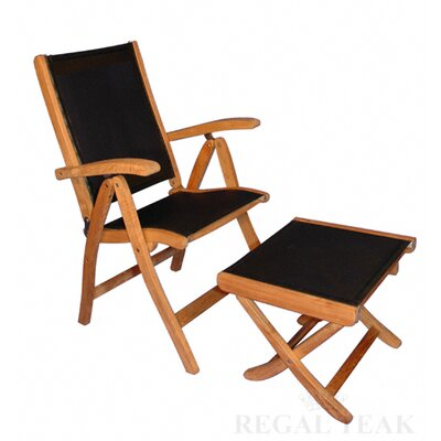 Reclining Sling Arm Chair