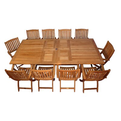 Bullock 11 Piece Dining Set