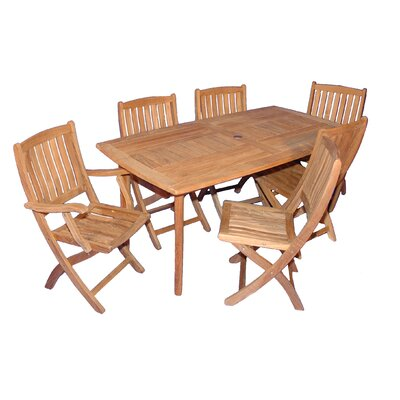 Bullock 7 Piece Dining Set