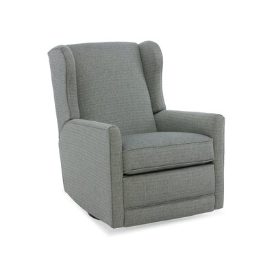 Jada Swivel Glider Recliner Upholstery: 2703 Pewter, Type: Power