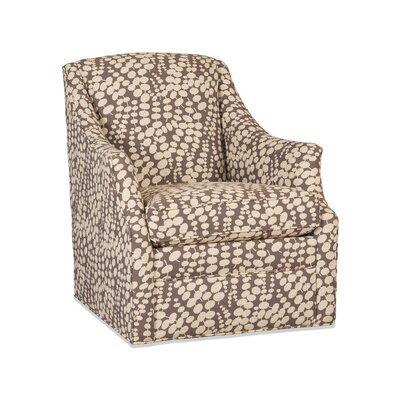 Lark Swivel Armchair Upholstery: 2703 Pewter