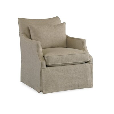 Azriel Club Chair Upholstery: 2245 Natural