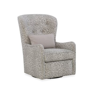Mavis Wingback Chair Upholstery: 2710 Metal