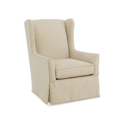 Delilah Wingback Chair Upholstery: 2761 Pewter