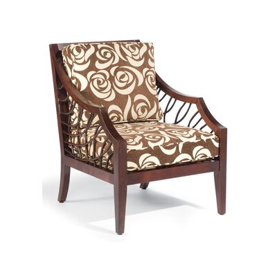 Ellis Exposed Wood Arm Chair