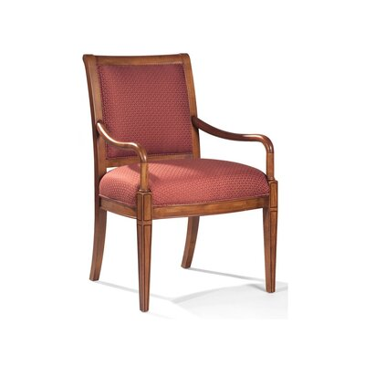 Nicholas Exposed Wood Arm Chair