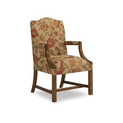 Martha Exposed Wood Armchair