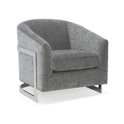 Ronan Barrel Chair Upholstery: 2710 Metal