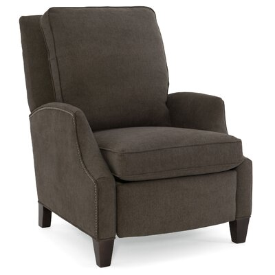 Demetrius Recliner Upholstery: Dark Brown