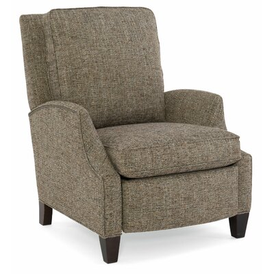 Demetrius Manual Recliner Upholstery: Light Brown