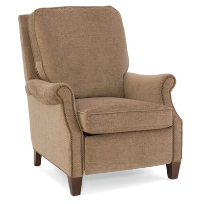 Brendan Recliner Upholstery: Beige