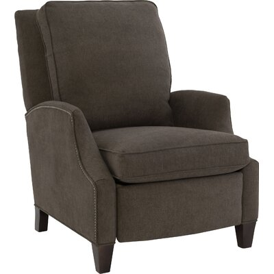 Demetrius Manual Recliner Upholstery: Dark Brown
