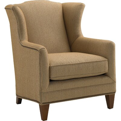 Harvard Wingback Chair Upholstery: Sand Fabric