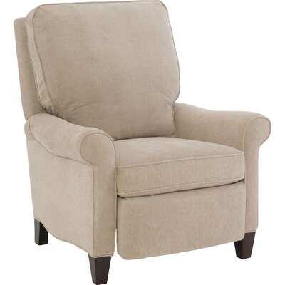 Eleni Manual Recliner Upholstery: Beige/Brown