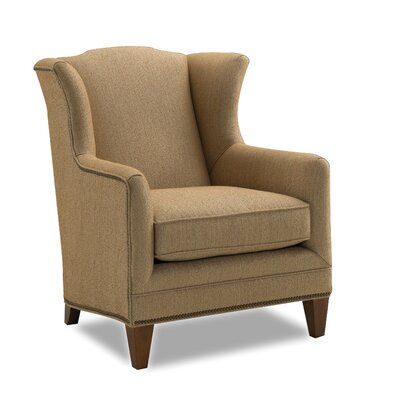Harvard Wing Chair Color: Sand Fabric