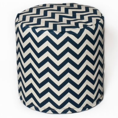 Bean Bag Pouf Upholstery: Navy