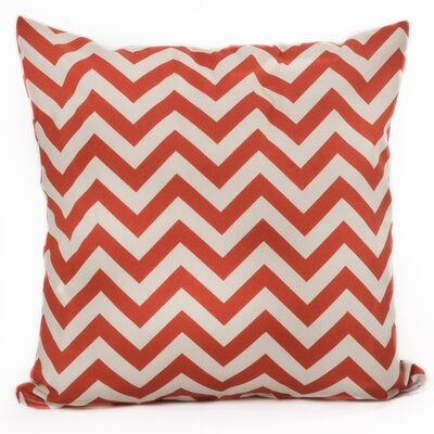 Indoor/Outdoor Throw Pillow Color: Orange