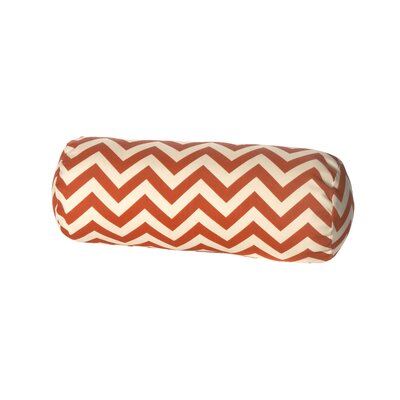 Indoor/Outdoor Bolster Pillow Color: Orange