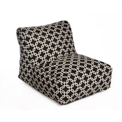 Links Bean Bag Lounger Upholstery: Black