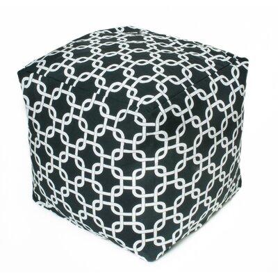 Links Bean Bag Cube Upholstery: Black