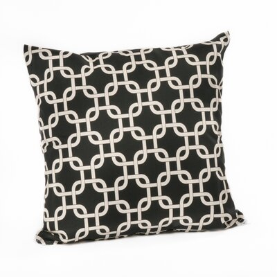 Links Outdoor Throw Pillow Color: Black