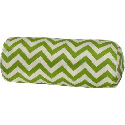 Indoor/Outdoor Bolster Pillow Color: Green