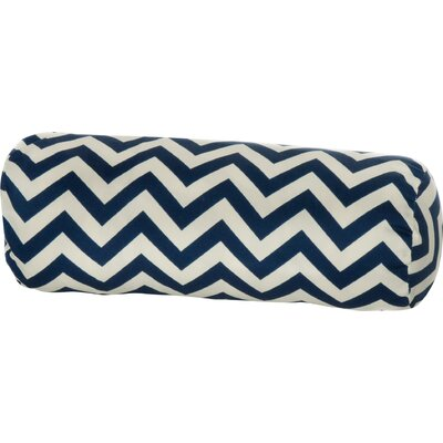 Indoor/Outdoor Bolster Pillow Color: Navy
