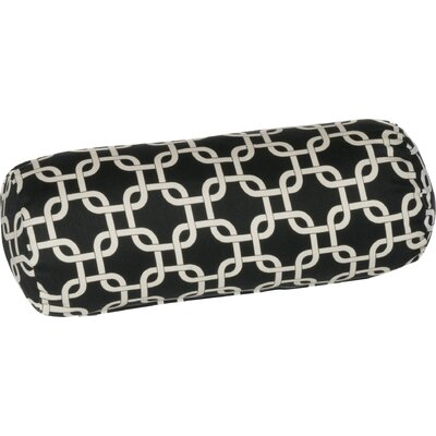 Indoor/Outdoor Bolster Pillow Color: Black