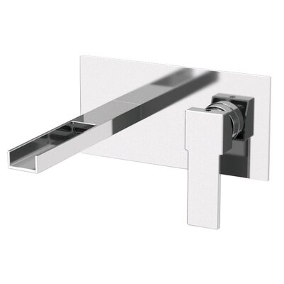 Single Handle Wall Mounted Bathroom Sink Faucet