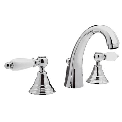 Double Handle Deck Mounted Bathroom Sink Faucet
