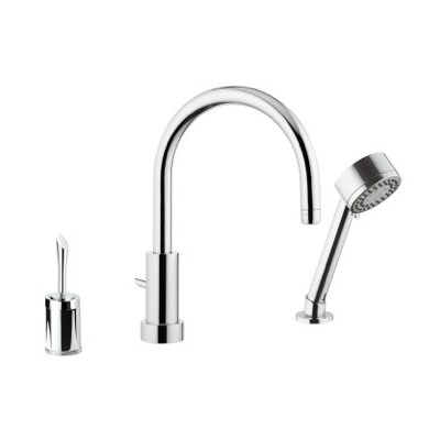 Deck Mounted Bathroom Sink Faucet