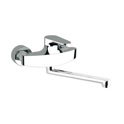 Single Handle Wall Mounted Kitchen Sink Faucet