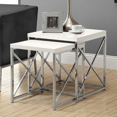 2 Piece Monarch Nesting Table Set
