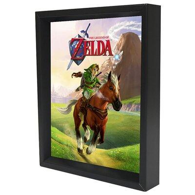 Nintendo 'Zelda Gallop' Framed Graphic Art Print EPPLA78045F