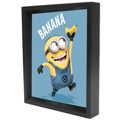Minions Bananas Framed 3D Graphic Art EPPLA78053F