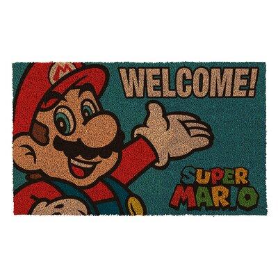 Mario Portrait Doormat